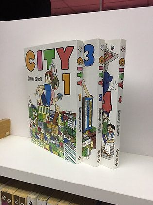 CITY Vol. 1,2,4 MangaPaperback – Illustrated, March 27, 2018