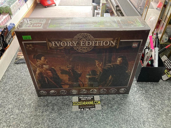 Legend of The Five Rings: L5R Ivory Edition Starter Deck Display