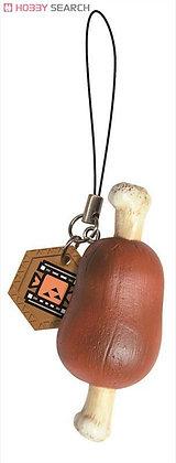 Capcom MONSTER HUNTER Item Mascot Brown Meat KEYCHAIN
