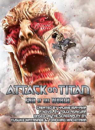 Attack on Titan: End of the World Paperback – November 22, 2016 by Touji Asakura