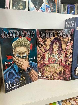Jujutsu Kaisen, Vol. 6,11 (2 manga) Paperback December 1, 2020 by Gege Akutam