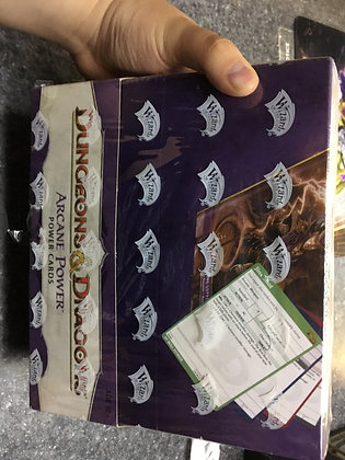 Dungeons and Dragons 4th Edition Arcane Power Power Cards Display