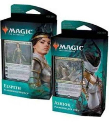Sealed Set of 2 Magic The Gathering Theroes Beyond Death Planeswalker Decks
