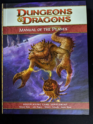 Dungeon & Dragons: Manual of the Planes, Roleplaying Game Supplement Hardcover –