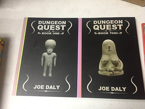 DUNGEON QUEST GN VOL 1 & 2 (Paperback) (2 Books)