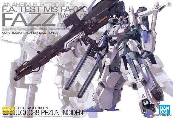 Bandai Mobile Suit Gundam FAZZ Ver.Ka Master Grade 1/100 (Gundam Model Kit)