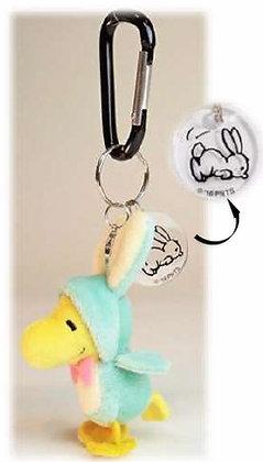 """PEANUTS"" Snoopy SN Carabiner Mascot Woodstock Bunny"