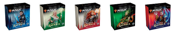 Set of 5 Magic Gathering MTG GUILDS OF RAVNICA Prerelease Sealed Kits