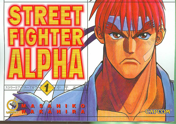 STREET FIGHTER ALPHA GN VOL 01  UDON ENTERTAINMENT INC