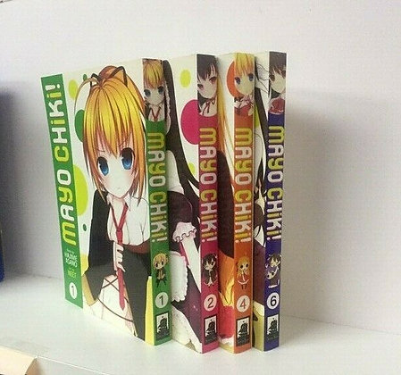 Mayo Chiki!  VOL 1,2,4,6 ( 4 Manga Books)  SEVEN SEAS ENTERTAINMENT LLC (W) Haji
