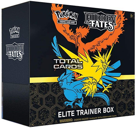 Pokémon TCG: Hidden Fates Elite Trainer Box