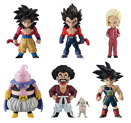 DRAGON BALL SUPER ADVERGE 7 10PC MINI Figure Set