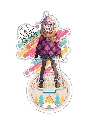 """""""Yurucamp"""" Acrylic Stand Kagamihara Nadeshiko By Cabinet"""