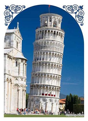 Broccoli Hybrid Sleeve Leaning Tower of Pisa
