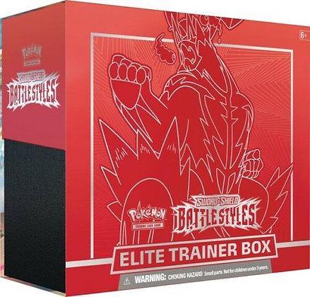 Pokemon Battle Styles Elite Trainer Box Urshifu