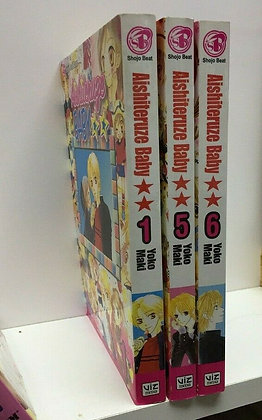 Aishiteruze Baby, Vol.1,5, 6 (3 Manga Books)Paperback – February 6, 2007