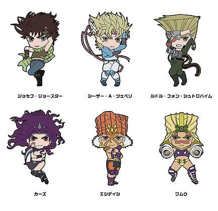 "set of  6 Anime ""JoJo's Bizarre Adventure"" Rubber Strap Collection Part II"