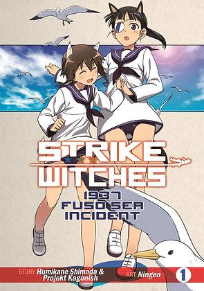 Strike Witches: 1937 Fuso Sea Incident Vol. 1,2 Manga (2 Books) SEVEN SEAS ENTER