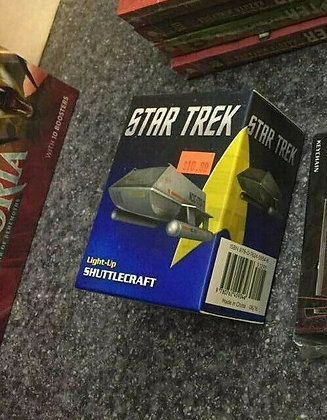 STAR TREK LIGHT UP SHUTTLECRAFT KIT (C: 0-1-0) RUNNING PRESS (W) Chip Carter Th