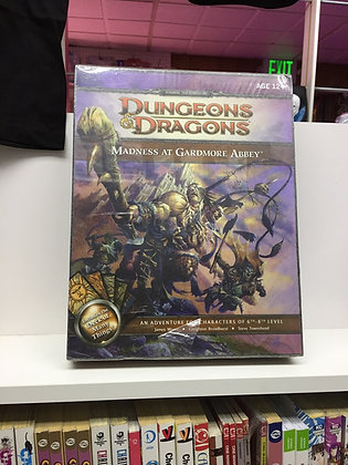 Wizards of the Coast Madness at Gardmore Abbey: A Dungeons & Dragons Supplement