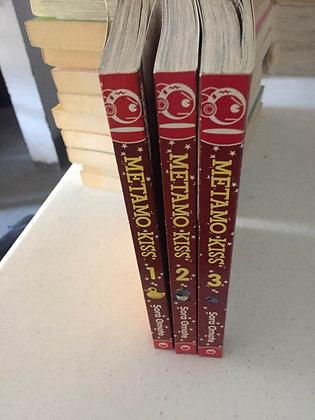 Metamo Kiss Vol 1,2,3 Manga Books