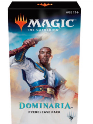 Sealed case of Magic The Gathering Dominaria Prerelease Kit (18ct)