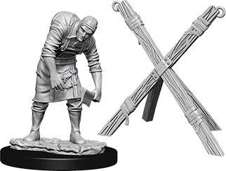 WizKids Deep Cuts Unpainted Miniatures: Assistant & Torture Cross WIZKIDS/NECA