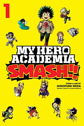 MY HERO ACADEMIA SMASH GN VOL 1,2,3