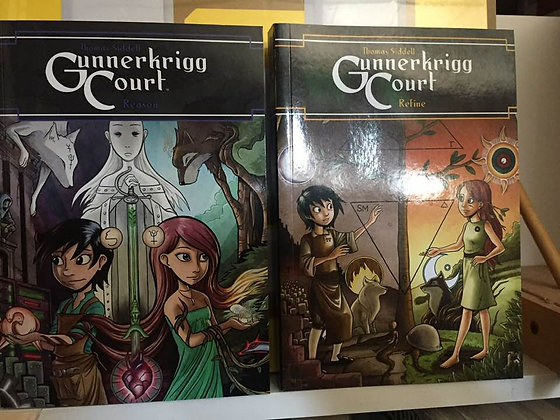 GUNNERKRIGG COURT TP VOL 3 REASON , VOL 5 REFINE 9781608868285