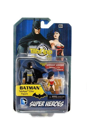 DC Heroclix  TabApp Elite Pack - Batman & Wonder Woman