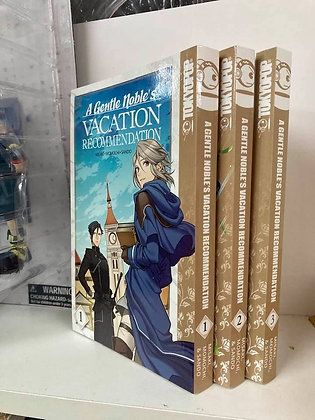 A Gentle Noble's Vacation Recommendation, Volume 1,2,3 Manga   Paperback