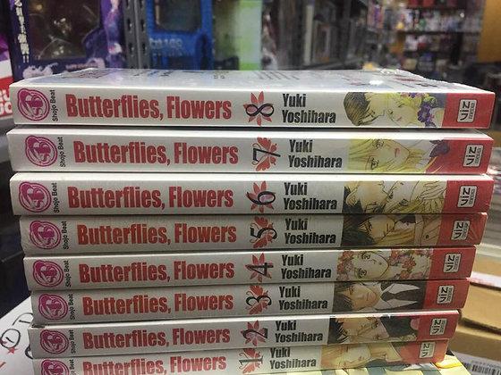 BUTTERFLIES FLOWERS GN VOL 1, 2, 3 ,4,5 ,6,7, 8 MANGA NEW 9781421535814