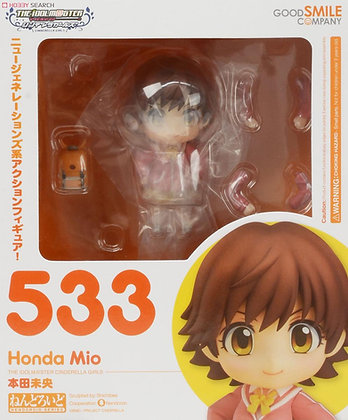 THE IDOLM@STER Cinderella Girls Nendoroid Action Mio Honda
