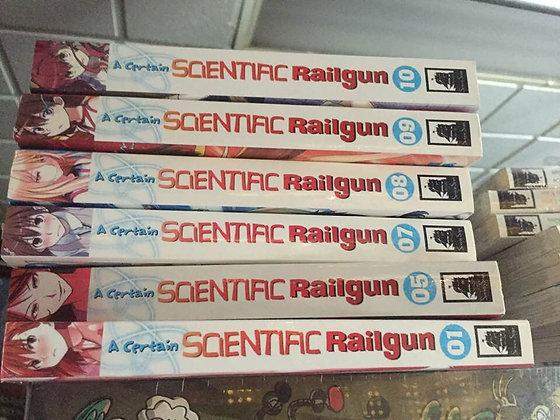 A Certain Scientific Railgun Vol. 1,5,7,8,9,10 Manga ( 6 Books )   SEVEN SEAS EN