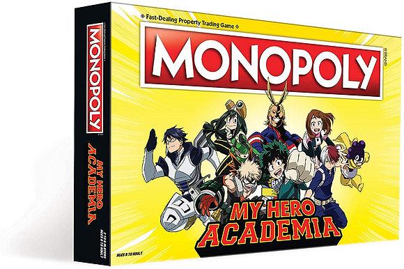 Monopoly My Hero Academia Board Game