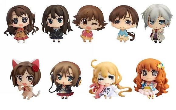 set of 9 Idolmaster Cinderella Girls: Minicchu Vol. 1 Trading Figures