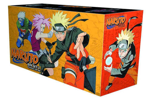 Naruto Collection 2 Volumes 28 48 Manga Box Set W Premium