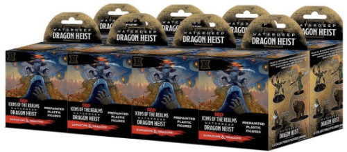 one Dungeons & Dragons Fantasy Miniatures: Icons of the Realms Set 9 Waterdeep D