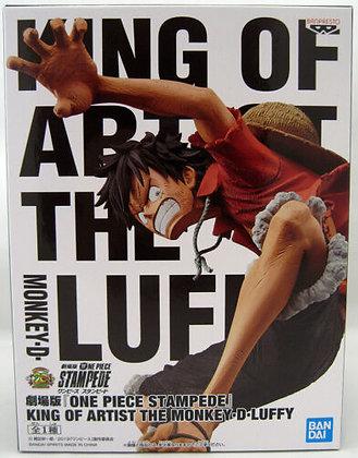 ONE PIECE STAMPEDE MOVIE KING OF ARTIST MONKEY D LUFFY FIGURE  BANPRESTO