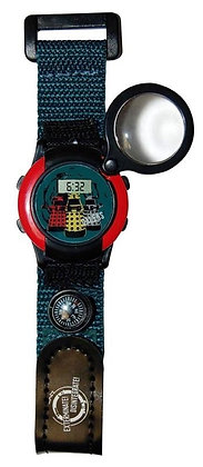 Doctor Who Wrist Watch (Adult) Magnifying Compass Watch