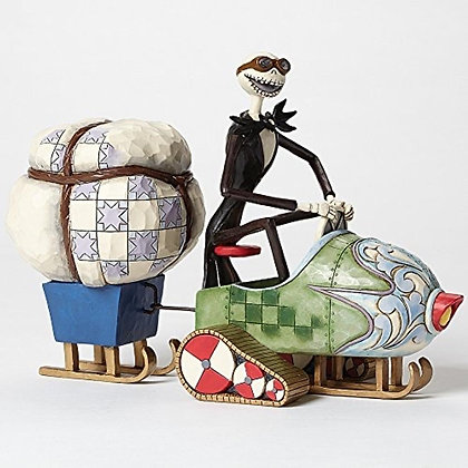 """Disney Traditions by Jim Shore """"The Nightmare Before Christmas"""" Jack Stone Resin"""