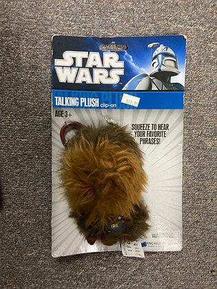 "Underground Toys Star Wars Talking Chewbacca 4"" Plush"