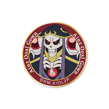 """Overlord II"" Velcro Emblem Ainz"