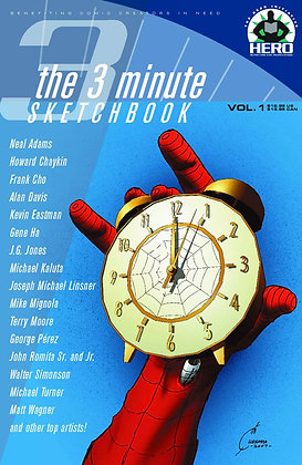 3 MINUTE SKETCHBOOK TP THE HERO INITIATIVE (W) Brian Cunningham (A)
