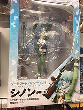 Kaiyodo Sword Art Online II: Sinon PVC Figure Statue