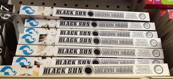 BLACK SUN SILVER MOON VOL 1,2,3,4,5,6, ,7 ENGLISH MANGA