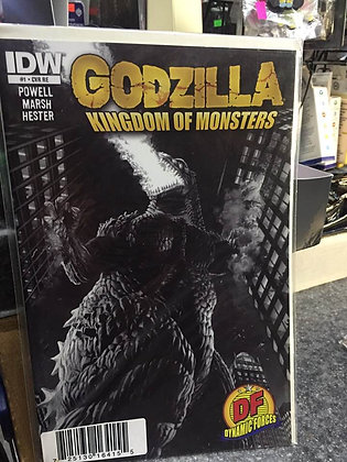 GODZILLA: KINGDOM OF MONSTERS #1 DYNAMIC FORCES EXCLUSIVE