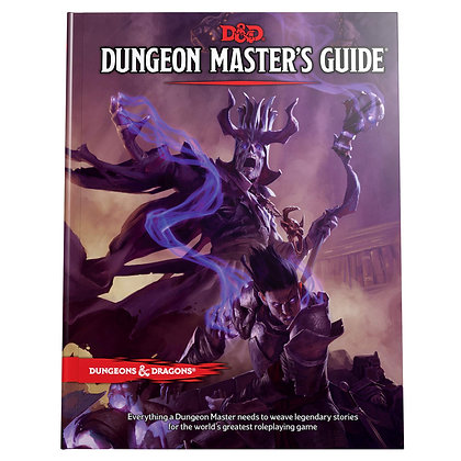 Dungeon Master's Guide (Dungeons & Dragons) Hardcover
