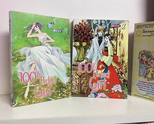 100% Perfect Girl Vol 2,10 Manga (2 Books)