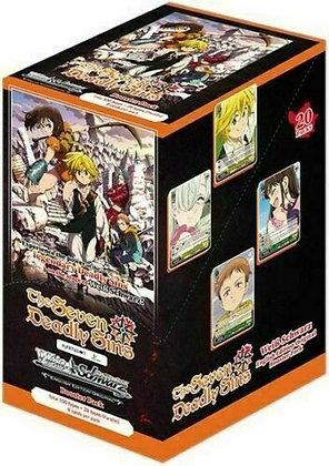Weiss Schwarz The Seven Deadly Sins Booster Box - 20 Packs